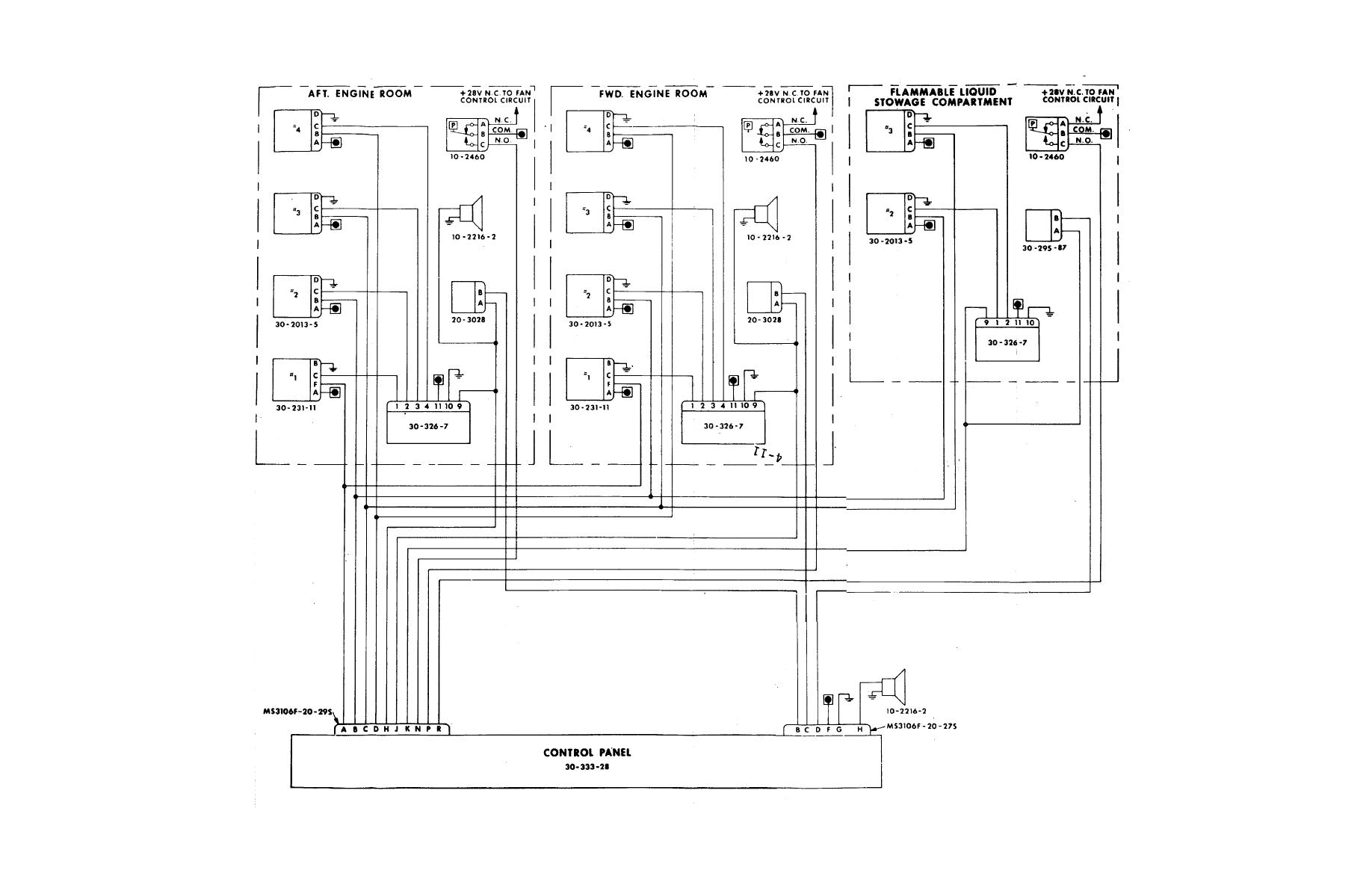 home alarm contact wiring diagram
