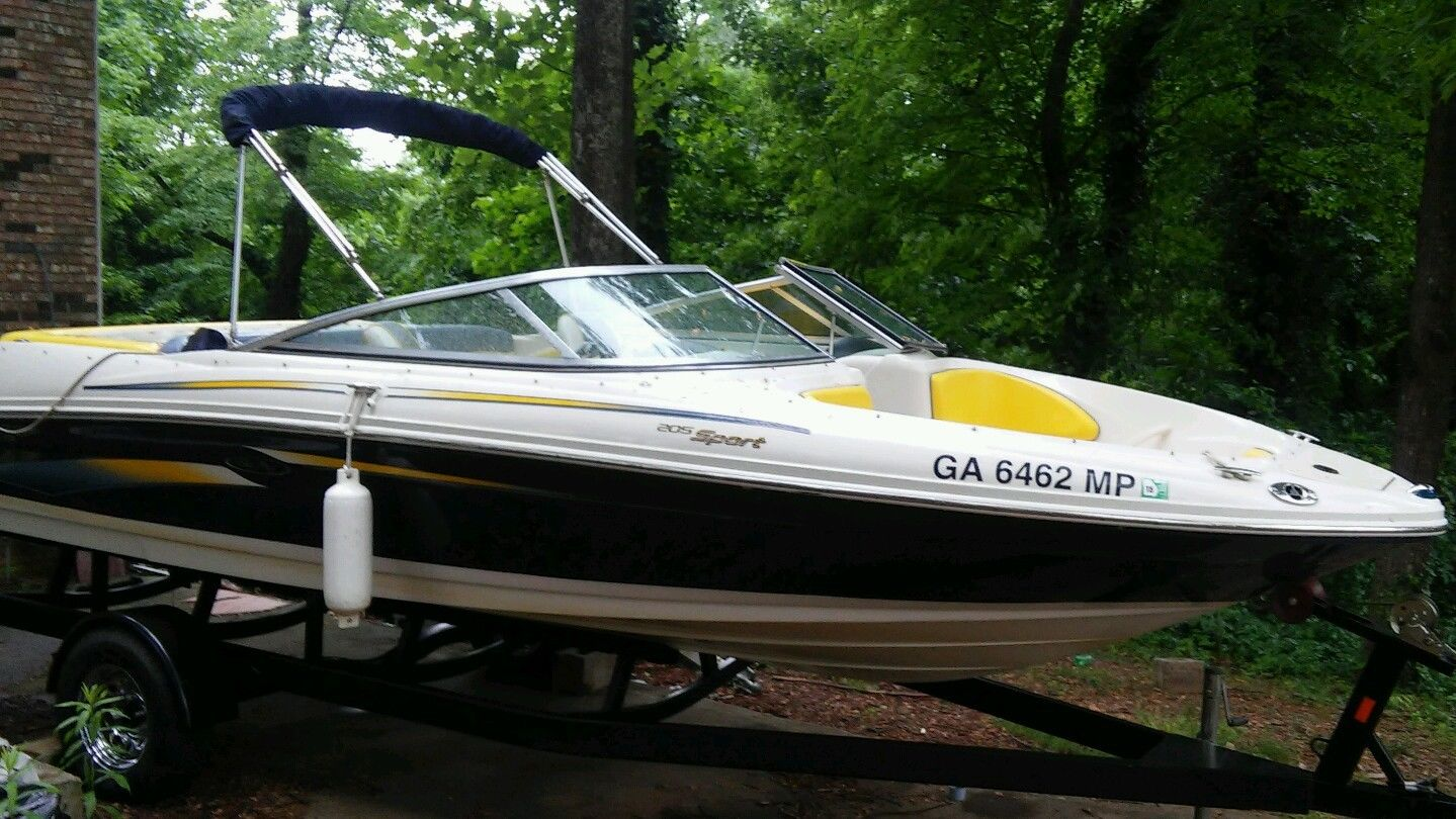 sea ray 205 sport manual