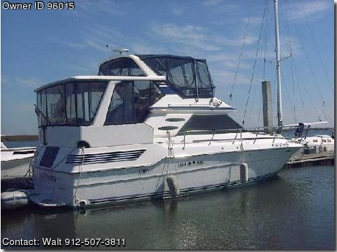1988 Sea Ray 415 Pontooncats