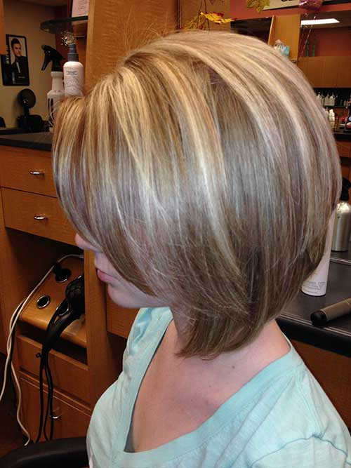Dark Brown Red Balayage Chic Straight Bob Hairstyles For 2017 Bob Hairstyles