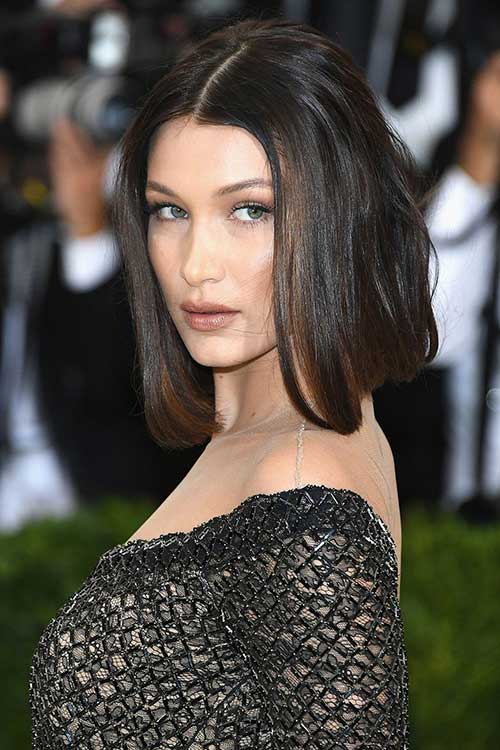 Kylie Jenner Blunt Bob Latest Celebrity Looks From Met Gala 2017 Bob Hairstyles