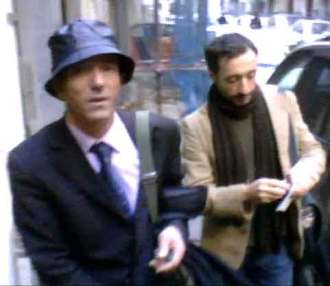 Naples pickpockets: Angelo, left, and Michele, right.