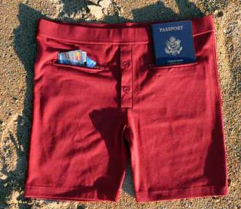 The Clever Travel Companion Pickpocket Proof Underwear