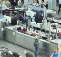 Heathrow security checkpoint