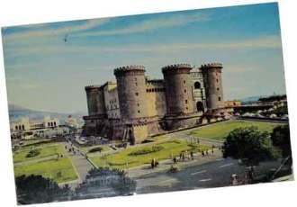 Naples postcard