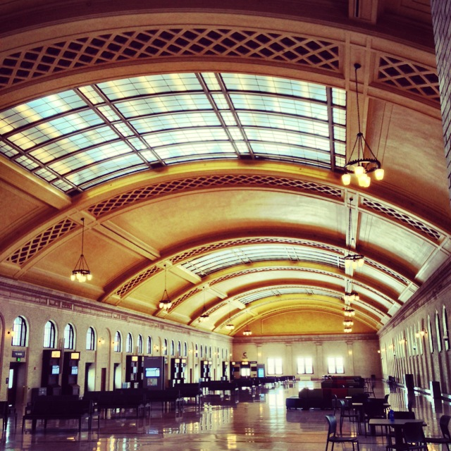 The newly remodeled Union Depot.