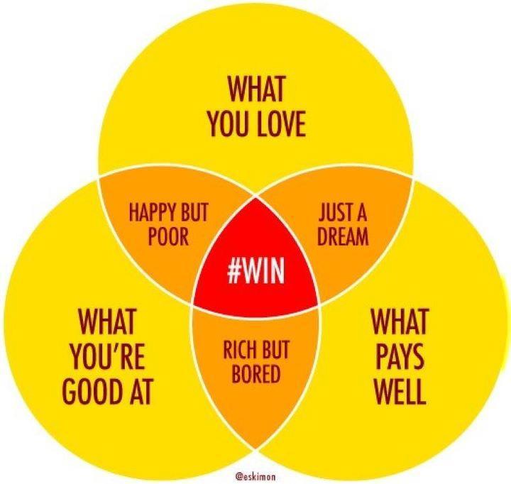 venn diagram what you re good at