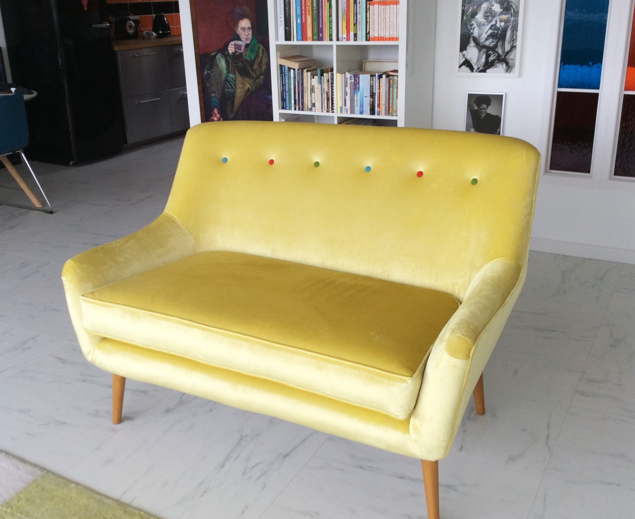 Retro Sofa Bristol Combine Retro And Modern Sofa Features With Our Blaise Sofa