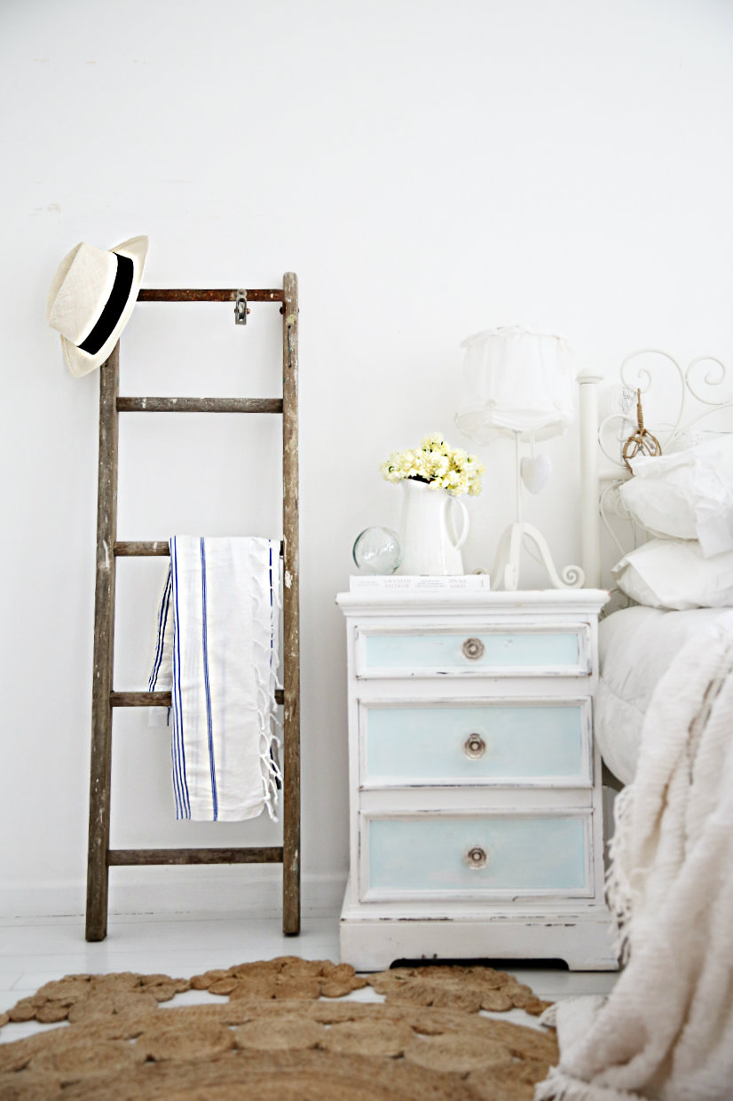 Handdoekenrek Ladder Decoratieve Ladders Bobbie S Home