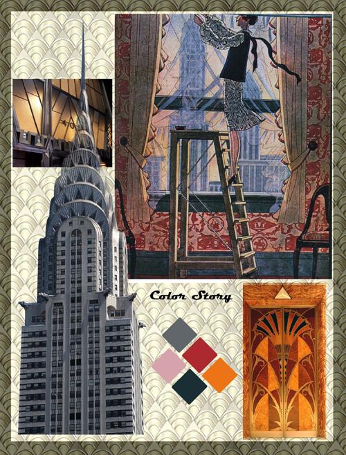 Bobbin Talk : Jung Hee'S Art Deco Scarves