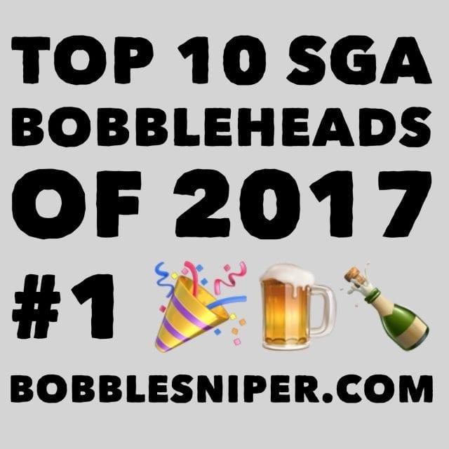 1 of the top 10 SGA Bobbleheads of 2017 - Bobble Sniper