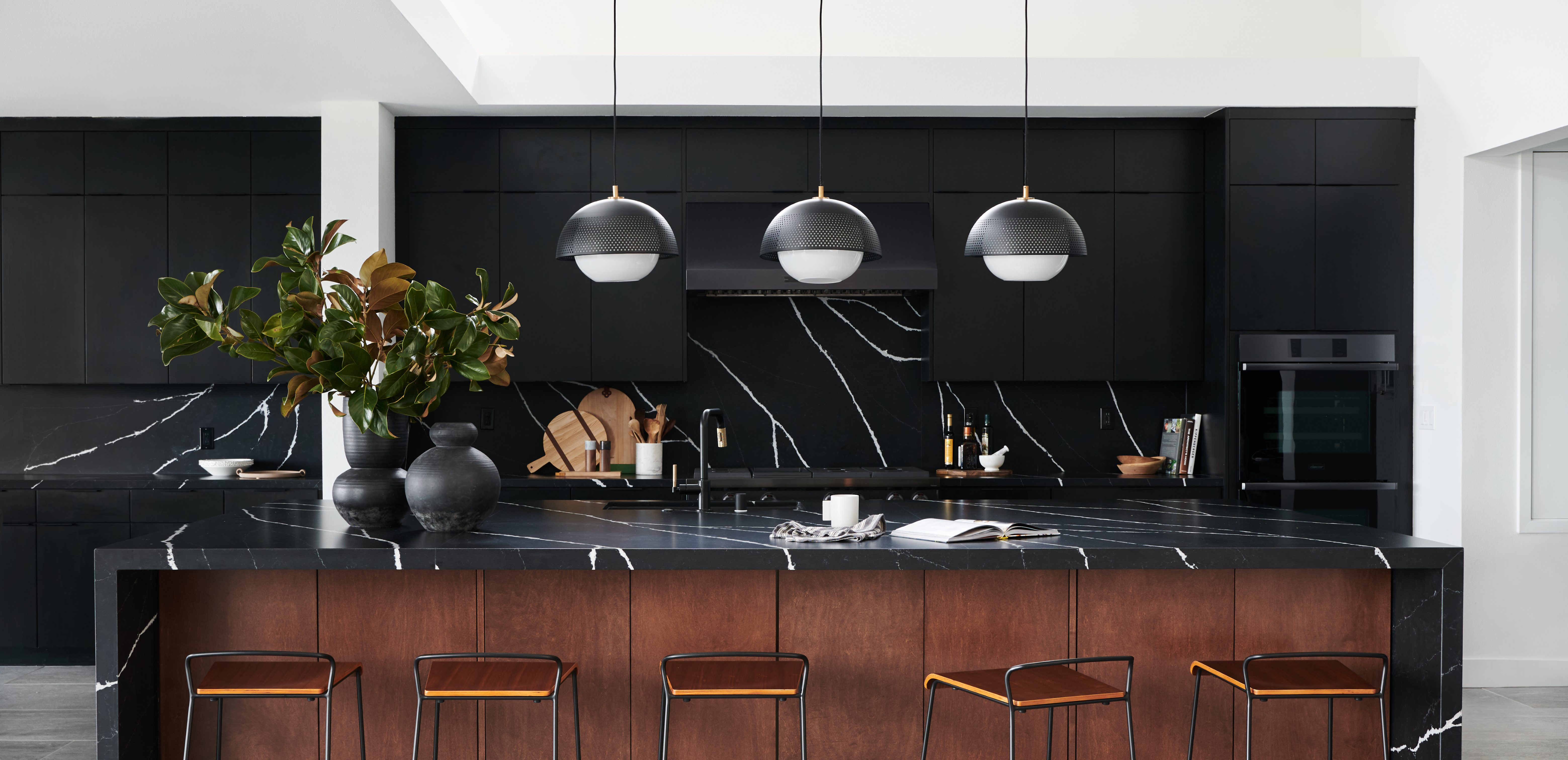 Black Design For Kitchen Bold And Black A Kitchen Reveal Bobby Berk