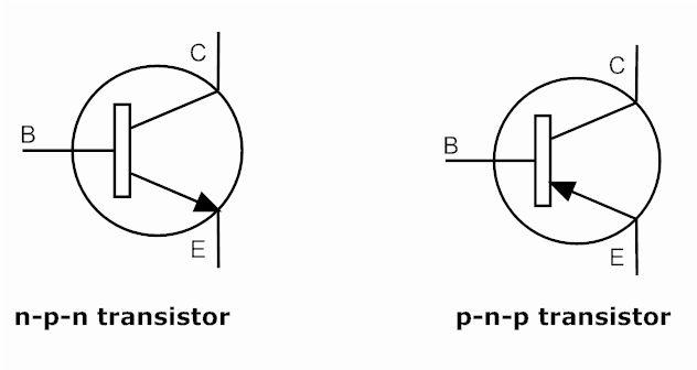 image pnp transistor symbol