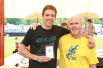 Steve Hardy and 10K winner Wesley Dinnan
