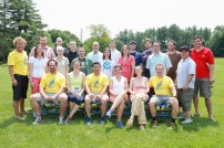 Oyster River Class of 1993 20th Year Reunion Photo: The Bobcat Bolt is held in memory of Josh Hardy and Nate Hardy. Josh was in the class of 1993.