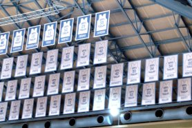 Banners in Rafters