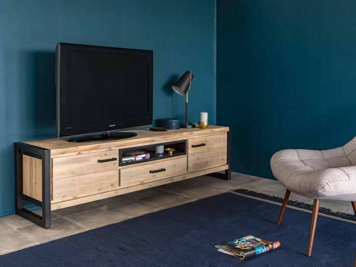 Meuble Tv Scandinave Anthracite Meuble Tv Zara