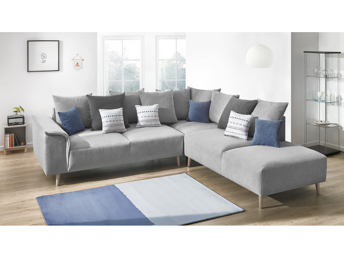 Big Sofa 290 Cm Sofa Wide Angle London Bobochic