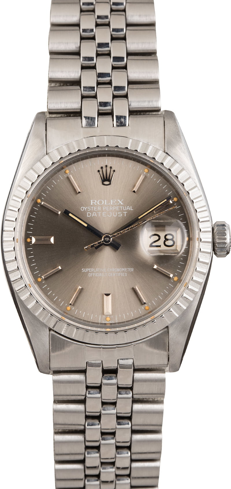 Steel Rolex Men S Rolex Datejust Stainless Steel