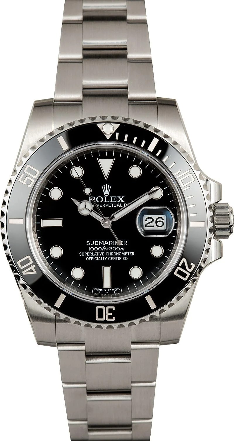 Cellini Watch Rolex Black Ceramic Submariner 116610