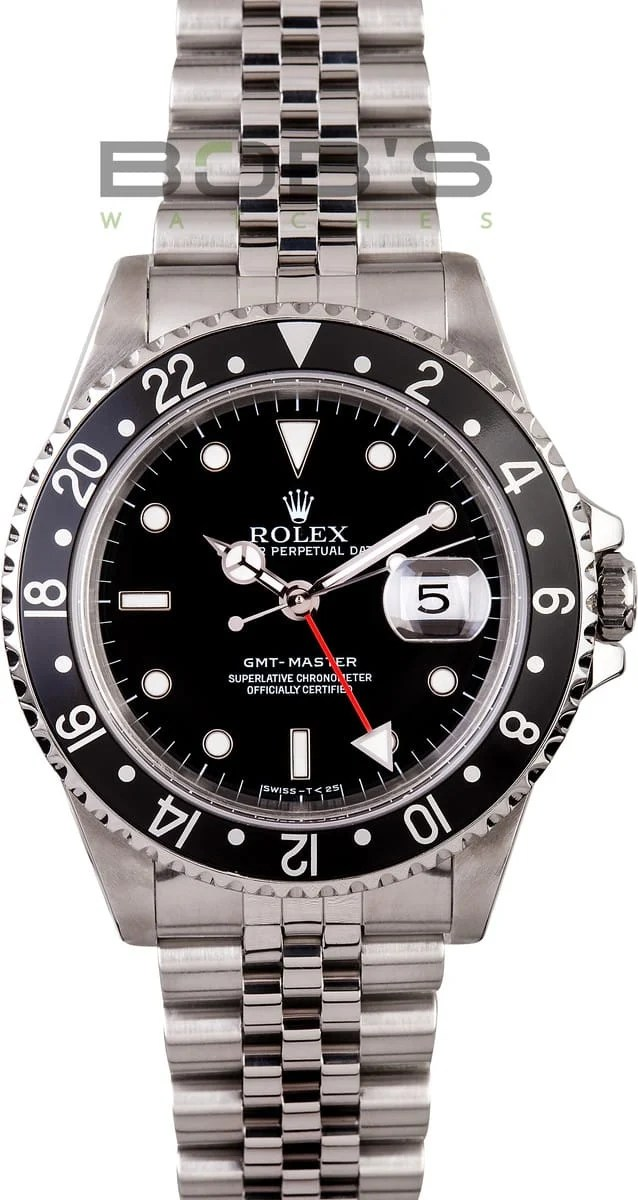 Air Prices Rolex Gmt-master 16700 - Get The Best Price At Bob's Watches
