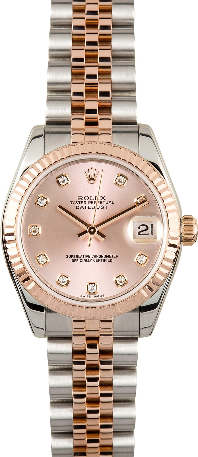 Air Prices Rolex Mid-size Datejust 178271 Diamond