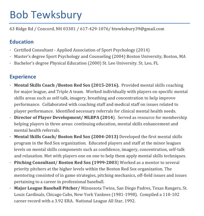 About - Bob Tewksbury