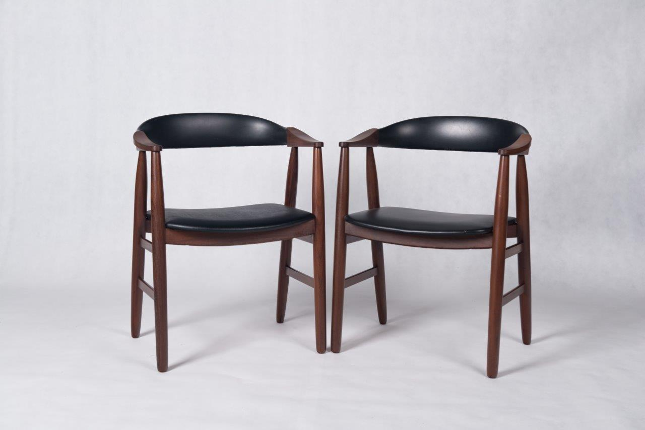 danish vintage teak carver chairs by farstrup bo butik