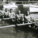 Senior Star Eight at Picton 2 January 1961, placed first, . Dent (str), Cameron, Armstrong, Johnson, Borrett, McMahon, Brown, McFarlane. Who is the Cox? Neville  Collier?