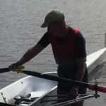Duncan Cameron at Masters in Hamilton c2011, Now a Sculler of note.