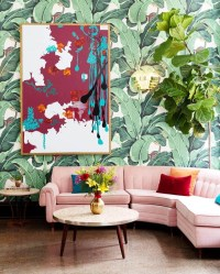 Interior Design Trends 2018: Tropical Prints