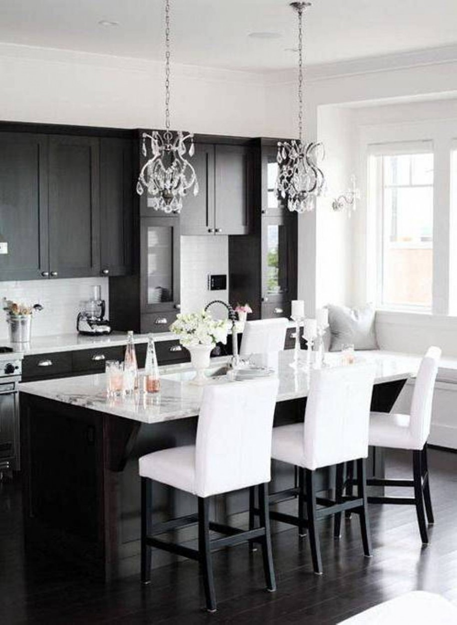 Black Design For Kitchen Black And White Kitchen Ideas
