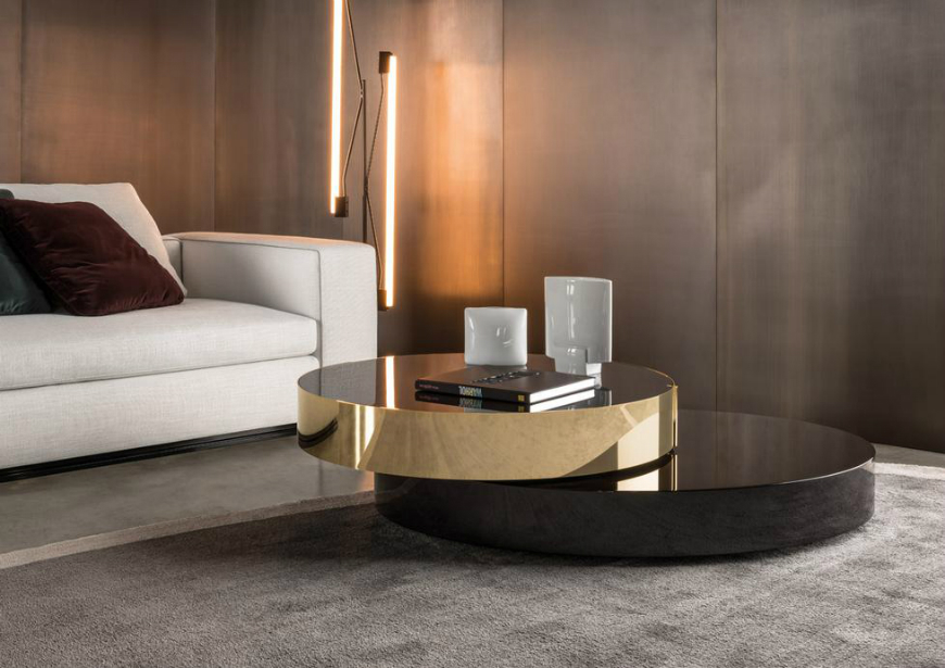 Couchtisch Oval Gold New Ebook Reveals Coffee And Side Tables With A History Behind