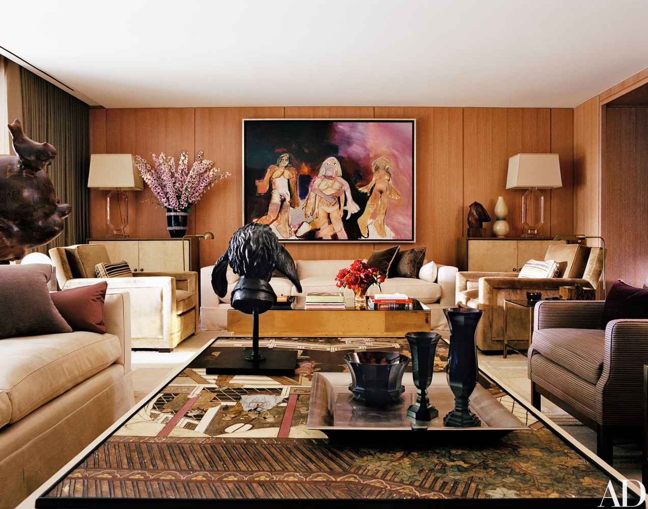 Celebrity Home Decorating Inside The Most Stylish Celebrity Homes