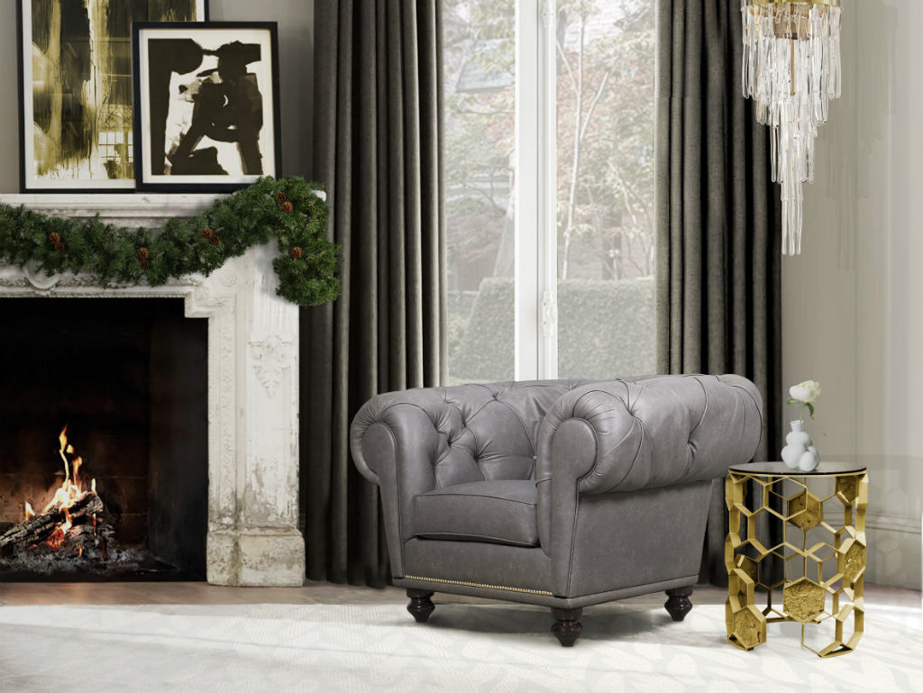 Couchtisch Le Port Christmas Decoration Ideas An Edgy Look For Golden Celebrations