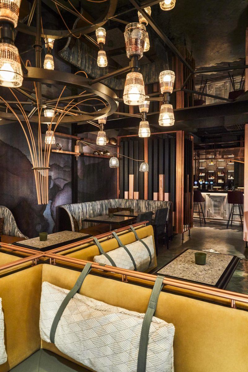 Interior Designer Hamburg Inside Jin Gui Restaurant In Hamburg A Modern Design By Joyce Wang