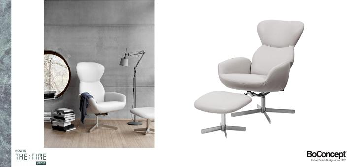 Recliner Sessel Athena | Neues Sesseldesign | Boconcept Experience