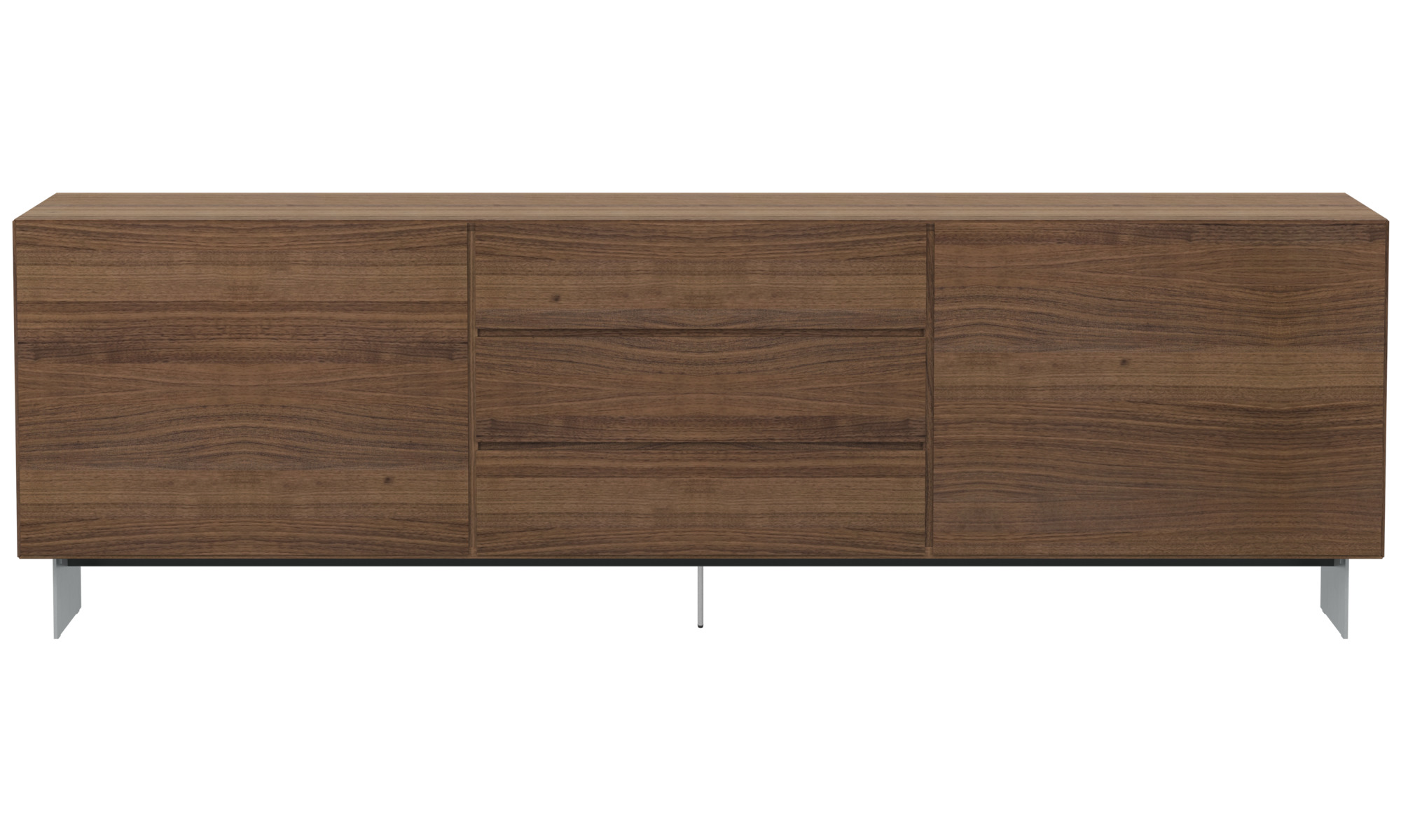 Sideboards Lugano Sideboard Braun Walnuss Interior Sideboards Lugano Sideboard Boconcept