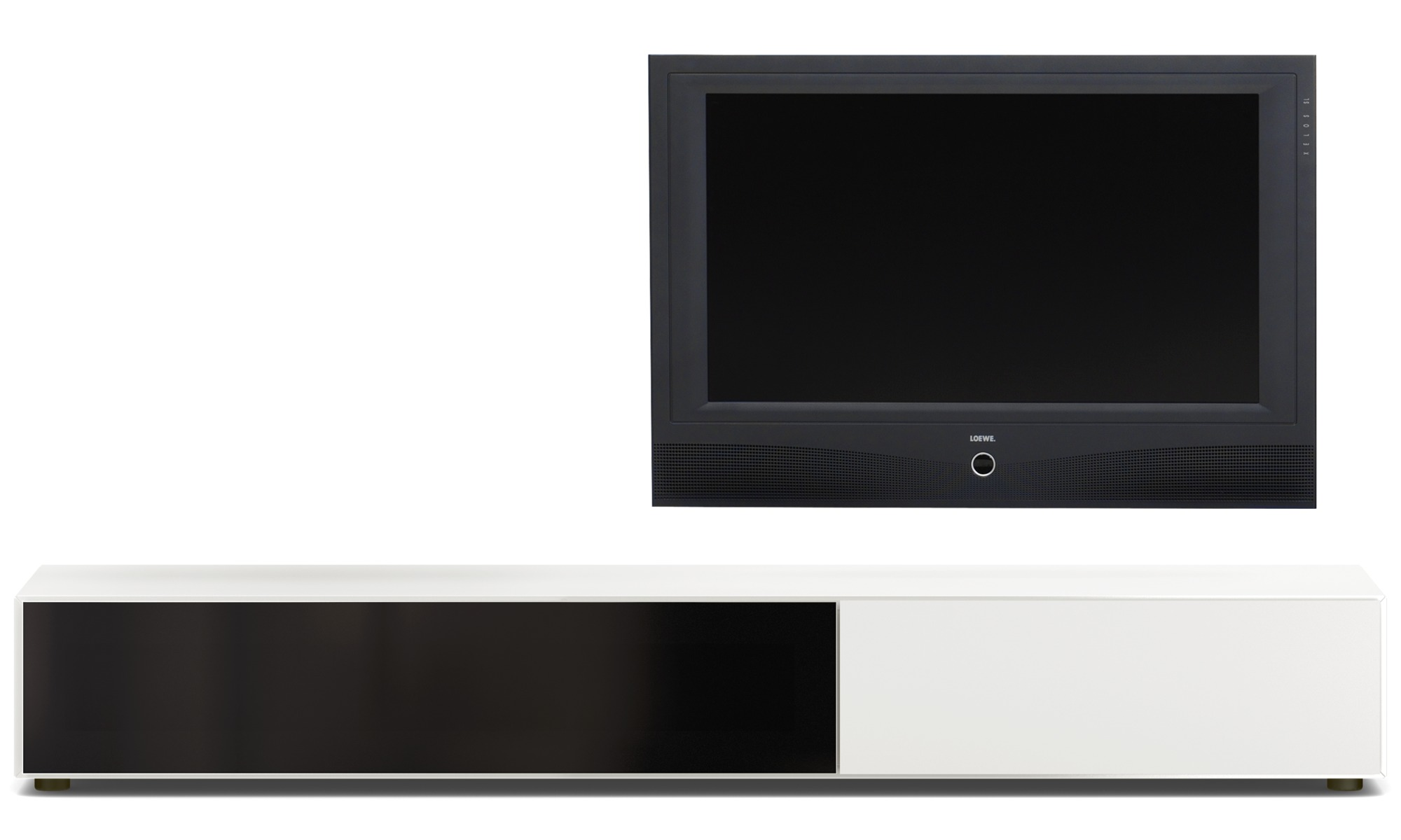 Meuble Tv Bo Concept Tv Units Lugano Base Cabinet With Drawer And Drop Down Door