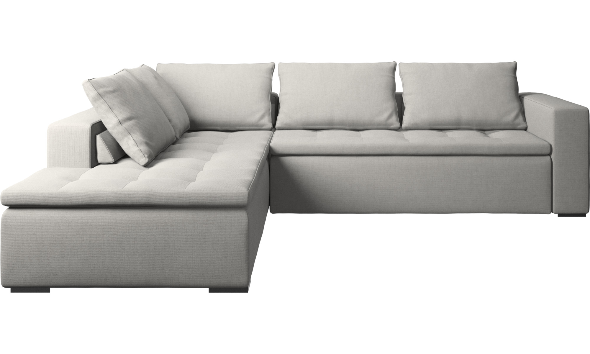 Sofas With Open End Mezzo Corner Sofa With Lounging Unit Boconcept - Sofas