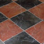 Checkered Tile Flooring