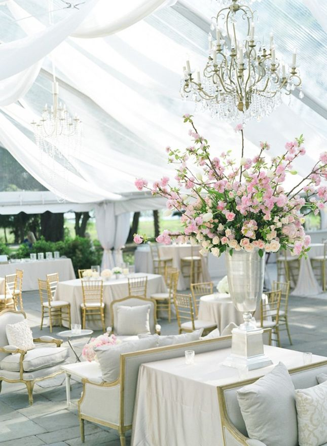 Lamparas De Techo Con Caireles Decoración De Carpas Para Bodas: 20 Ideas Creativas