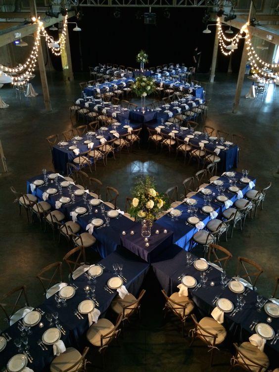 wedding head table seating