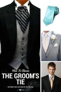 Groom's Tie: How to Choose the Right Color and Style for ...