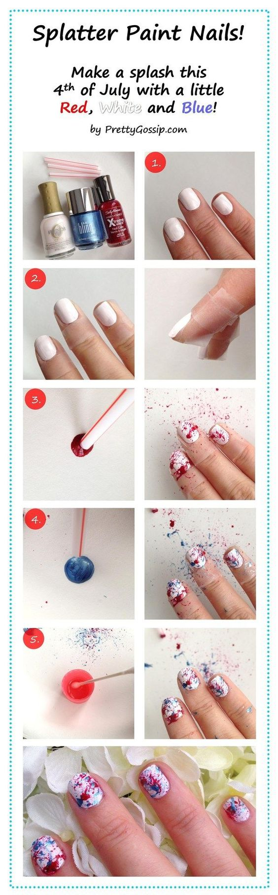 4th Of July Makeup Ideas And Tutorials Absolutely Simple Fabulous
