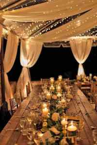 28 Amazing Wedding Reception Lighting Ideas You Can Steal