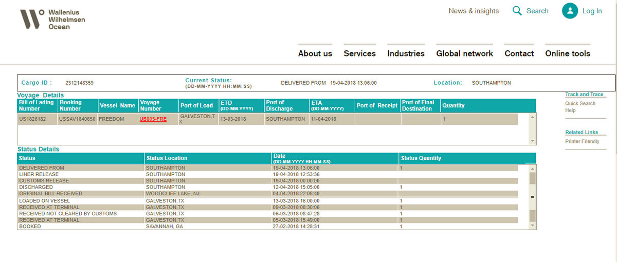 Vehicle Shipping \u2013 USA to Europe \u2013 BodesWell