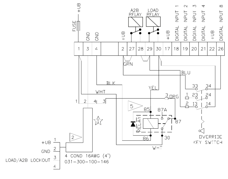 12v 7 pin plug wiring diagram