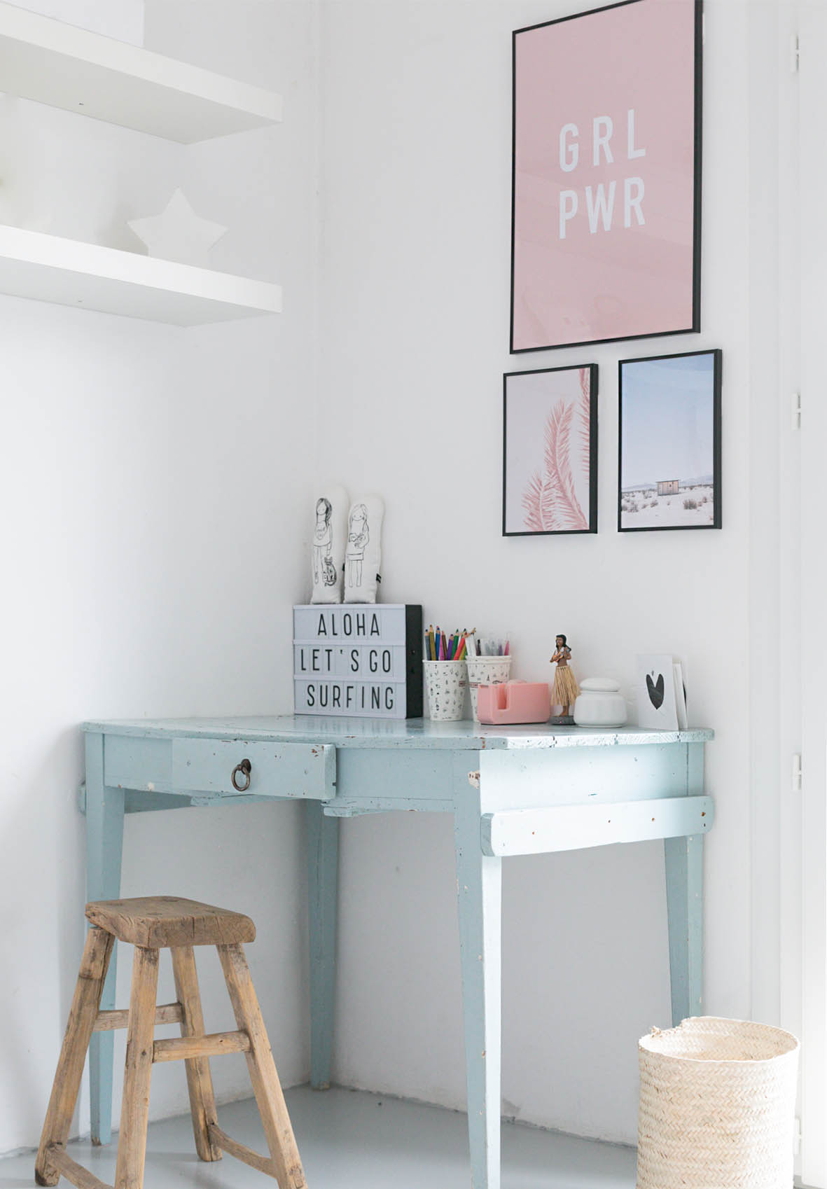Bureau Adolescente Teen S Desk Area Makeover