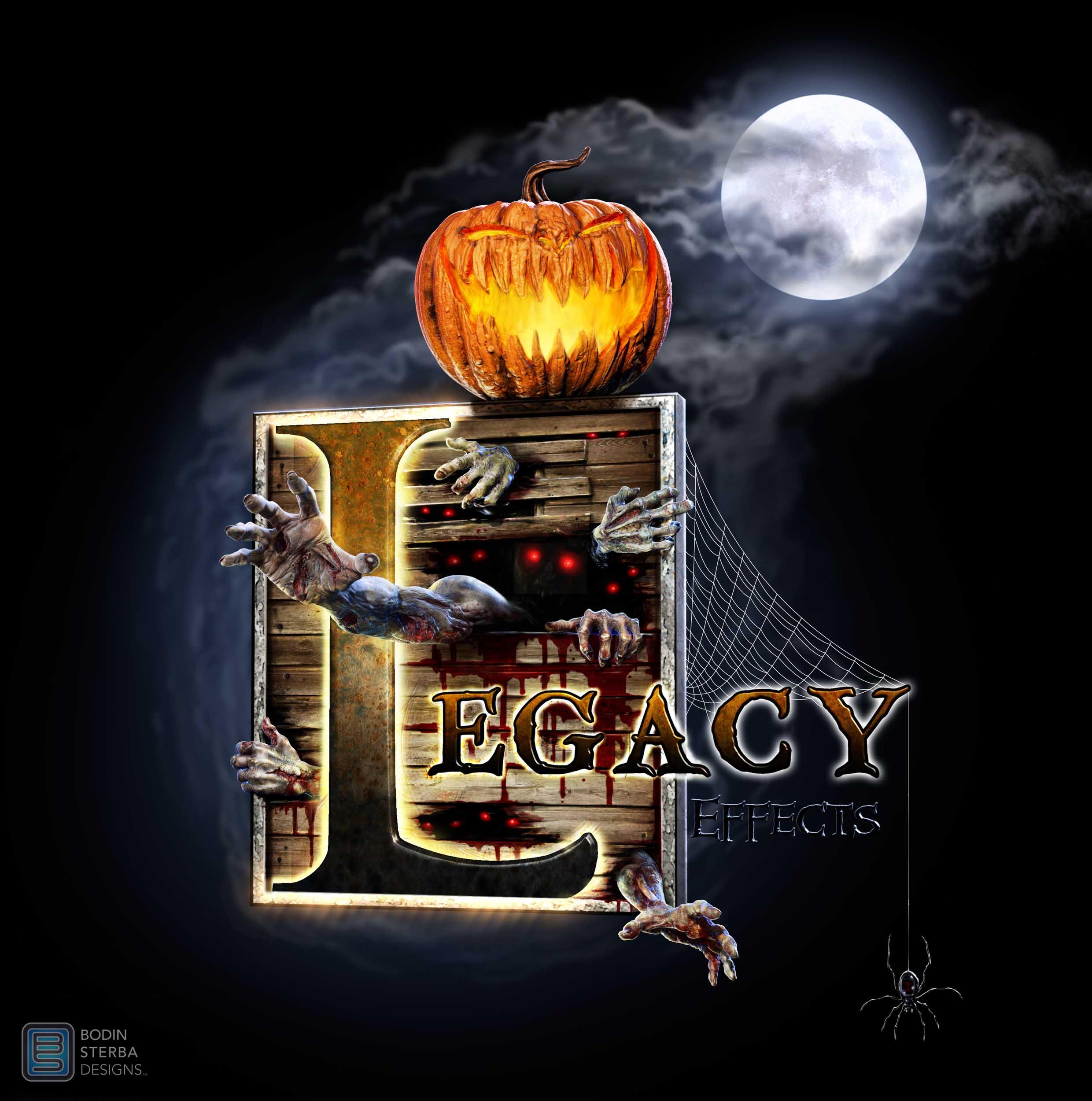 Legacy Effects Halloween Logo